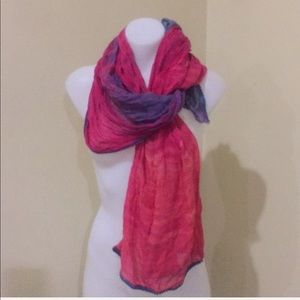 New Gypsy 05 pink and purple scarf